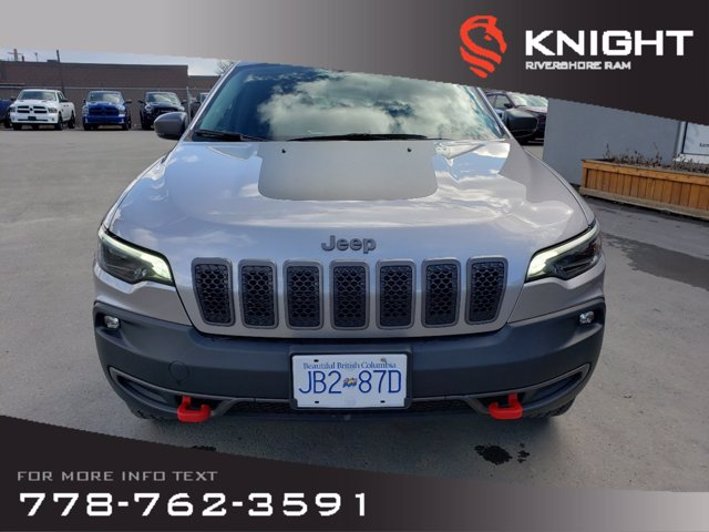 Pre-Owned 2019 Jeep Cherokee Trailhawk Elite