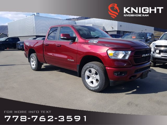 New 2020 Ram 1500 Big Horn Sport Quad Cab | Heated Seats and Steering Wheel | Remote Start