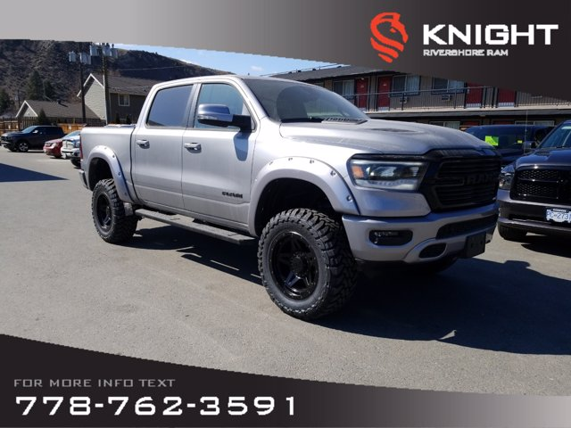 New 2020 Ram 1500 Laramie Crew Cab | Sunroof | Navigation
